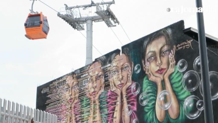 El teleférico en Ecatepec, el Mexicable, está en su etapa final de construcción