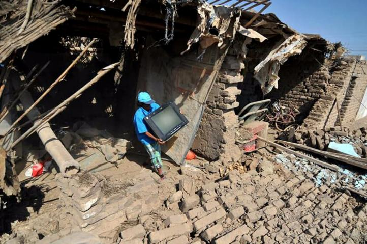 Perú: Sismo destruye docenas de viviendas