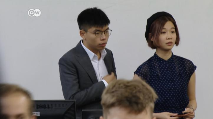 Alemania: Joshua Wong apela a líderes mundiales