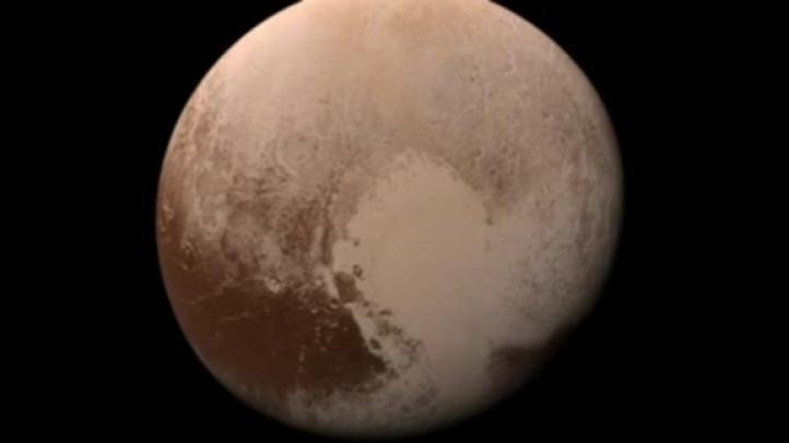 Revelan imágenes de Plutón