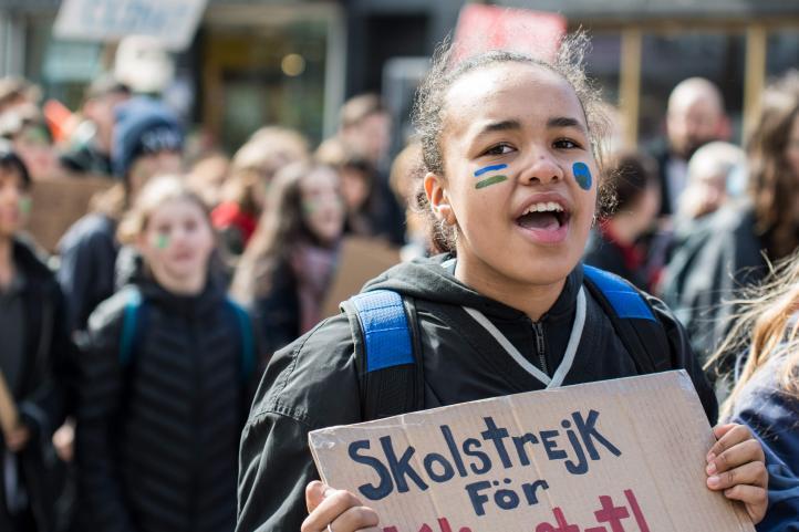 Se hace global la huelga estudiantil contra el cambio climático