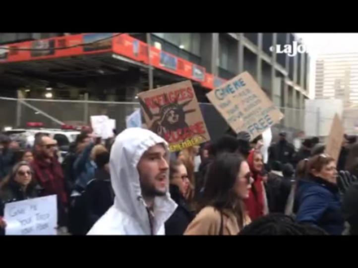 NY: Más de 10 mil salen a las calles a repudiar las políticas migratorias de Trump