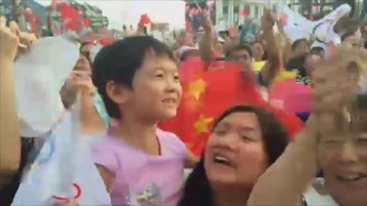 Festejan en China la elección de Beijing como sede de Juegos Olímpicos