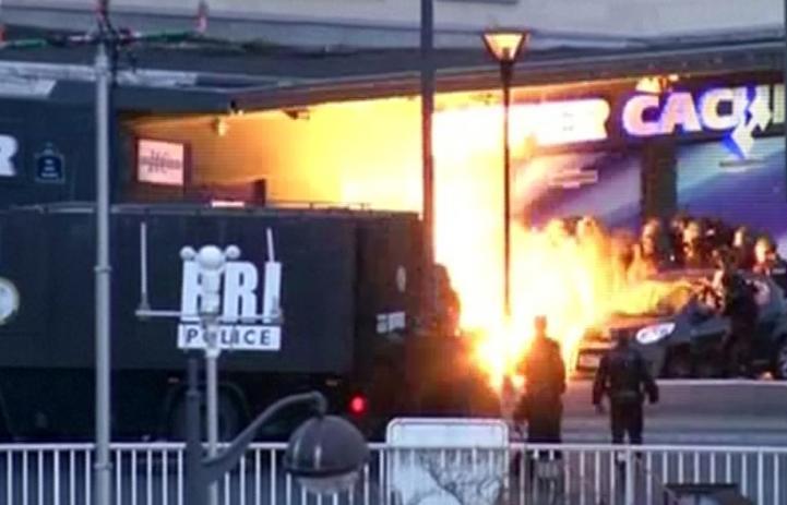 A sangre y fuego, termina Francia con crisis simultáneas de rehenes