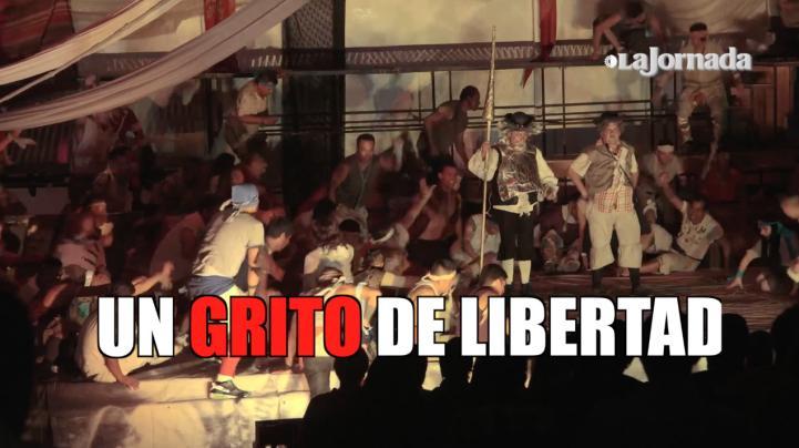 Teatro en la cárcel: Un grito de libertad