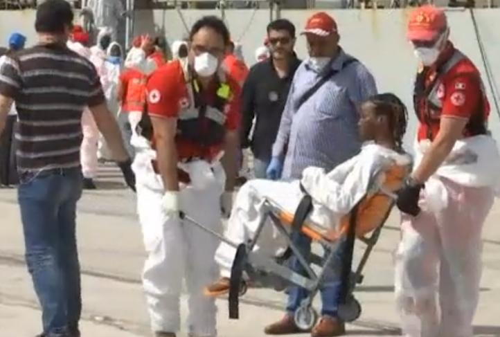 Aumentan los naufragios de migrantes en el Mediterráneo