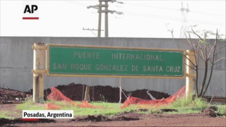 Muro fronterizo entre Argentina y Paraguay causa polémica