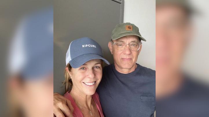 Tom Hanks y Rita Wilson regresan a Los Ángeles tras superar el COVID-19