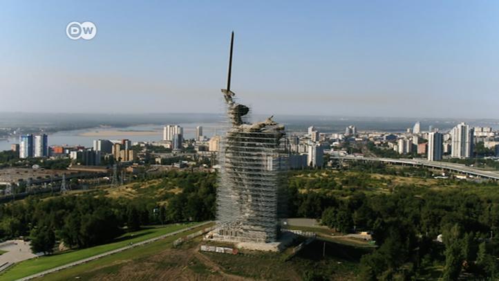 Rusia: restaurada la estatua de la 'Madre Patria'