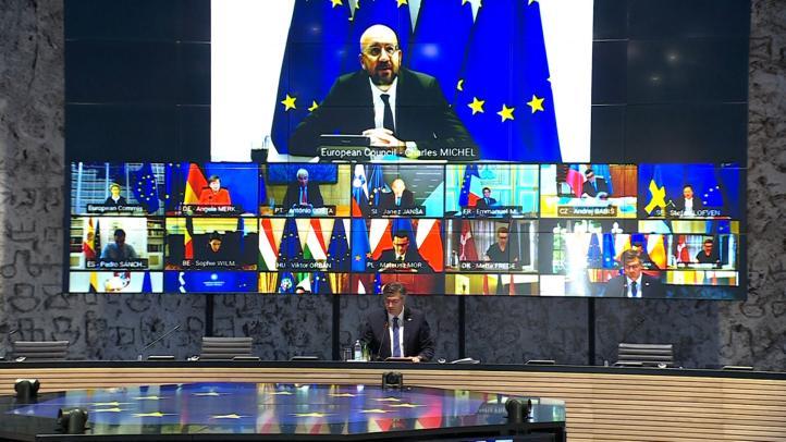 Líderes de la UE se citan en julio tras exponer sus diferencias