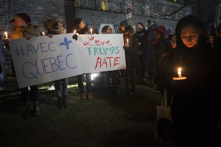 Sospechoso del ataque en Quebec era conocido por sus posiciones de ultraderecha