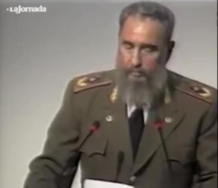 En 1992, Fidel Castro alertaba sobre la destrucción del medio ambiente