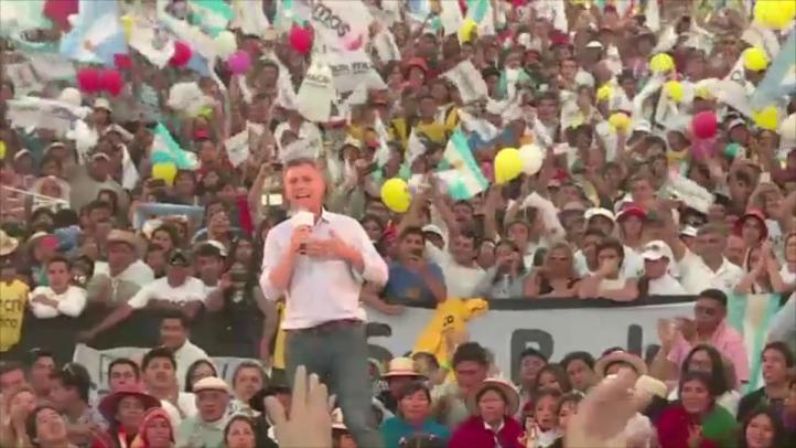 Primeros datos dan victoria a Macri