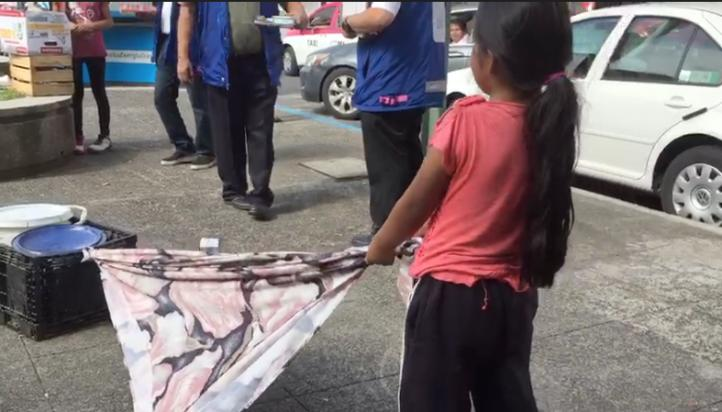 Cámaras de seguridad de la CDMX contra trabajo infantil