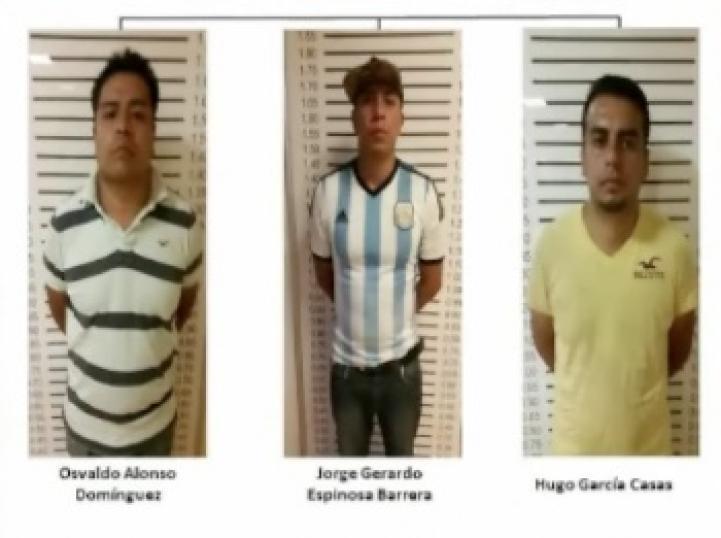 Capturan a asaltantes que cometieron tres asesinatos