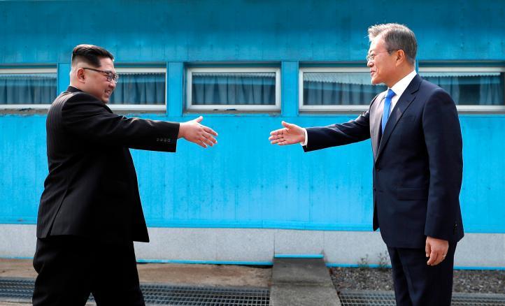 Cumbre histórica entre los presidentes de Corea del Norte y del Sur