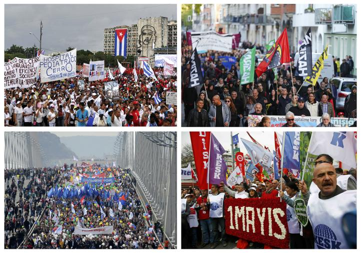 Marchas del Primero de Mayo en el mundo