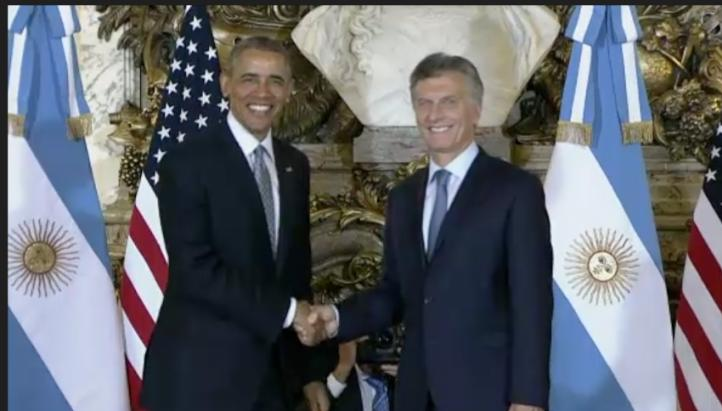 Inicia visita oficial de Barack Obama en Argentina