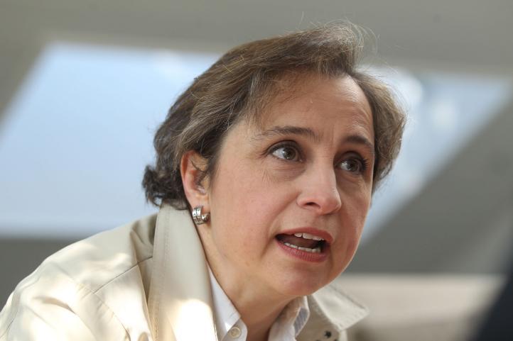 """""""El nombre del juego sigue siendo el contenido"""": Carmen Aristegui inicia nuevo programa en vivo por Internet"""