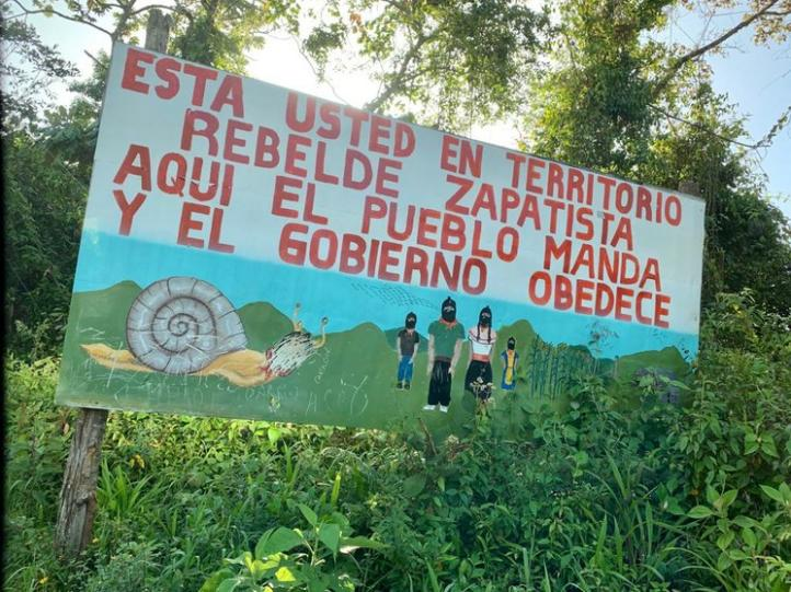 """""""Bienvenidos"""", dice AMLO a nuevos territorios autónomos zapatistas"""