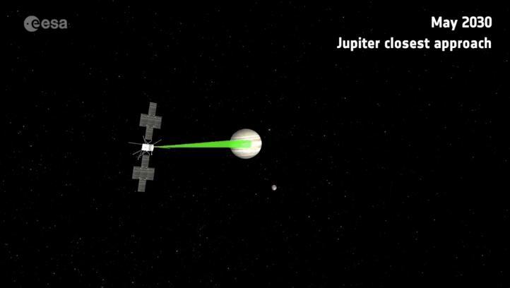 La ESA presenta un video de su nueva misión espacial: JUICE