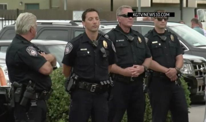 Un afroamericano muere baleado por la policía en California