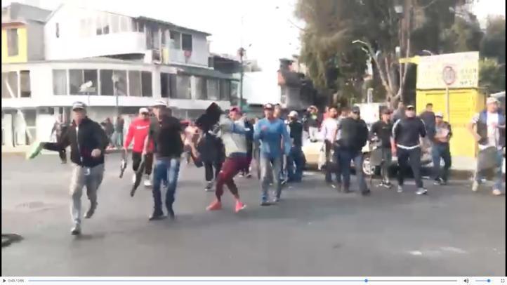 Nuevas agresiones en Coyoacán a evento de Claudia Sheinbaum