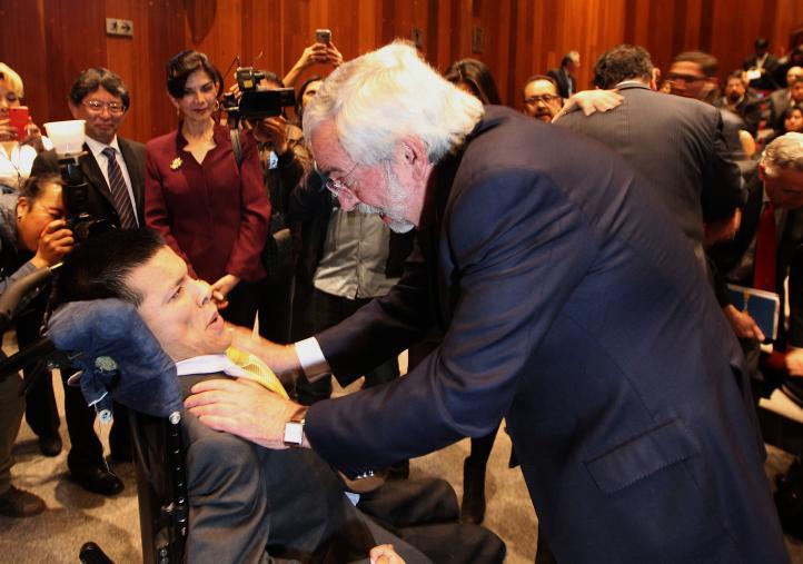 La discapacidad no ha limitado a Matías Santiago
