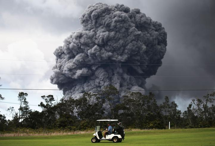 Erupción del volcán Kilauea golpea al turismo en Hawai