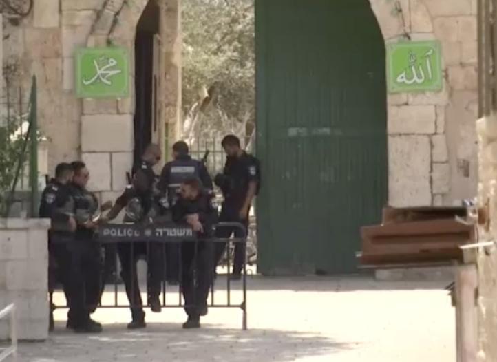 Tensión en Jerusalén por medidas de seguridad