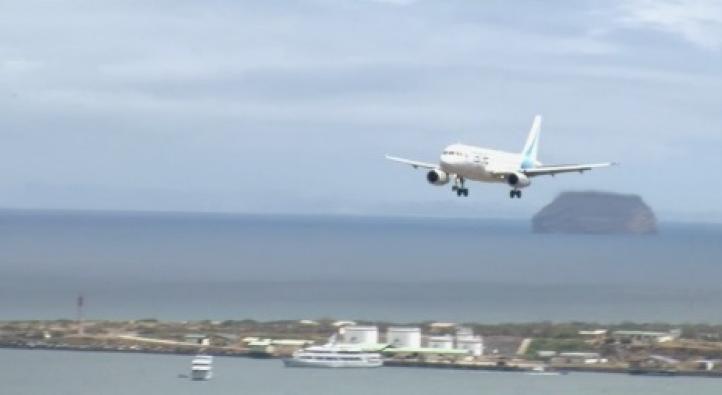 Aeropuerto en Islas Galápagos es declarado el primero ecológico en el mundo