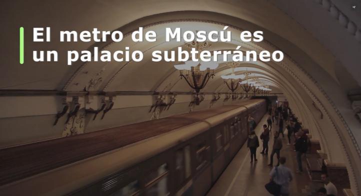 Rusia 2018 | El Metro de Moscú, un palacio subterráneo