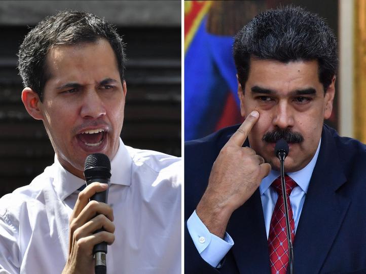 Guaidó rechaza propuesta de diálogo de Maduro