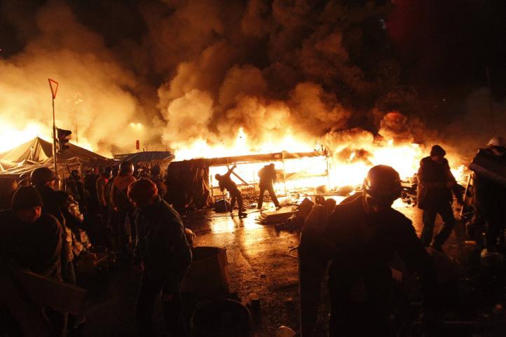 Choques violentos en Ucrania dejan 7 Muertos