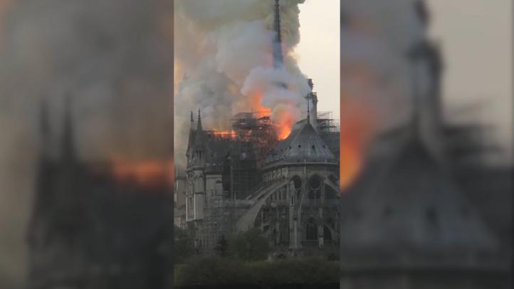 El mundo espera por el peritaje del incendio en Notre Dame