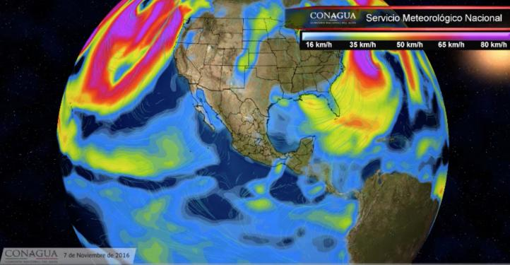 Pronóstico del tiempo para el 7 de noviembre