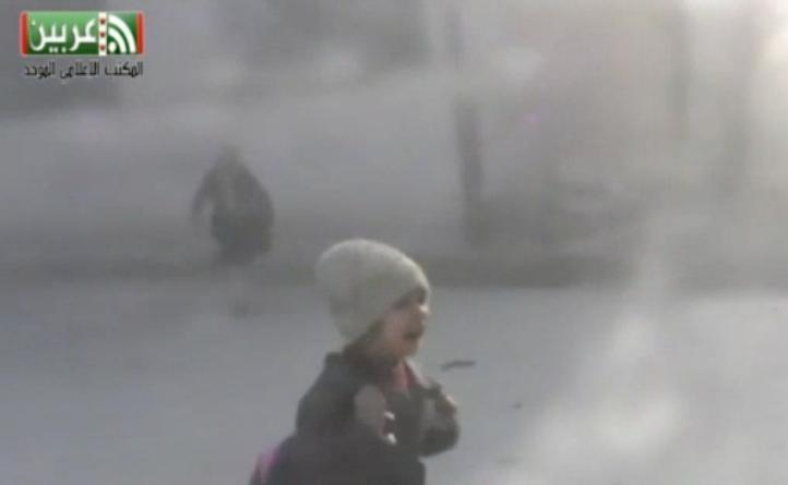 Bombardean una escuela en las inmediaciones de Damasco