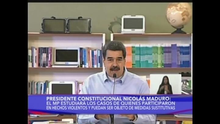 Sin Guaidó, algunos opositores acuerdan negociar con Maduro