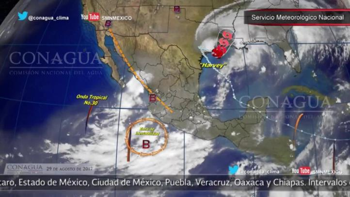 Pronóstico del tiempo para el 29 de agosto