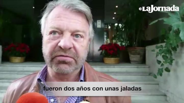 """""""La vi muy bien"""". El ex canciller Jorge Castañeda visita a Elba Esther Gordillo"""