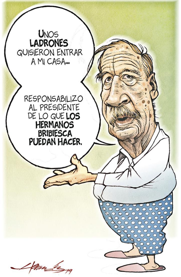 AMLO instruye que Fox y Calderón tengan guardia militar