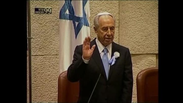 Israel se prepara para despedir al ex presidente Shimon Peres