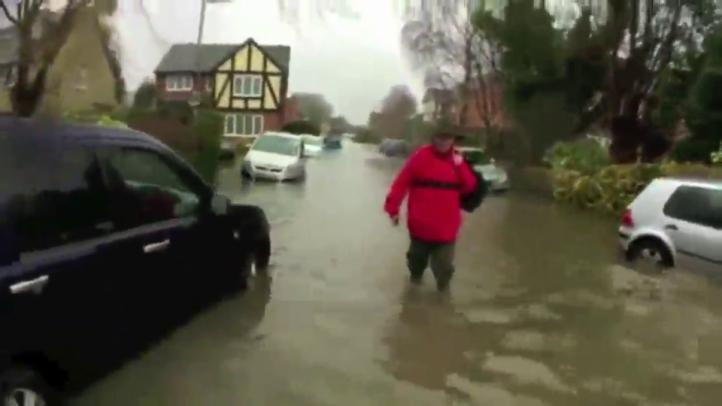 Inglaterra:Evacuan a residentes por inundaciones del Támesis