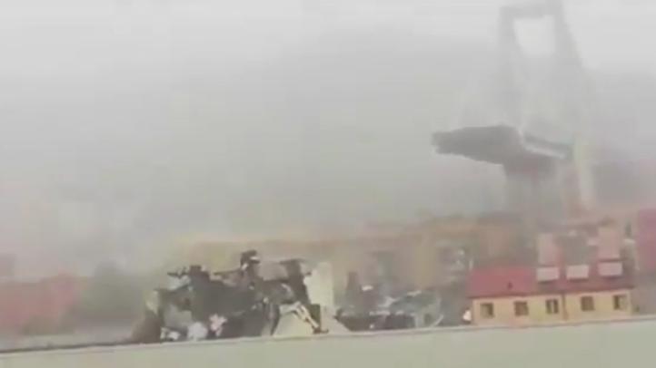 Decenas de muertos por desplome de un puente en Génova