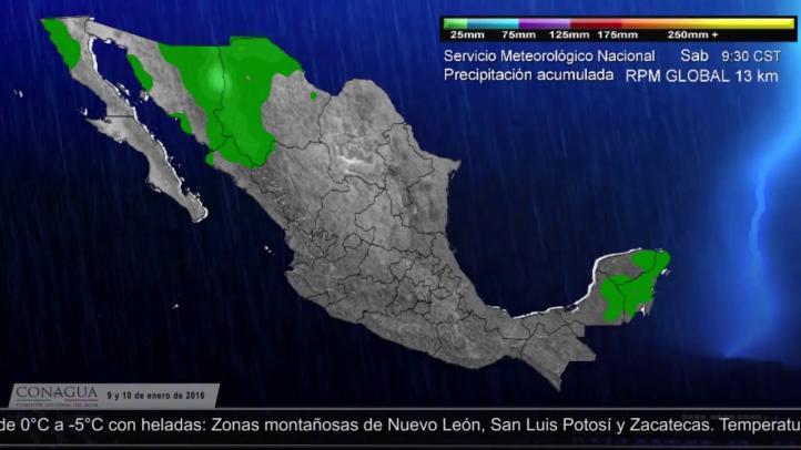 Se mantendrán las bajas temperaturas en el norte del país