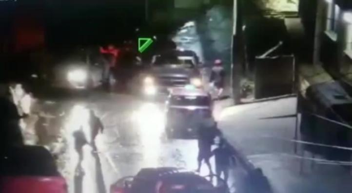 Filtran video de comando armado en Naucalpan