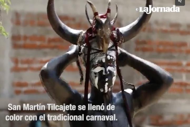 Los diablos de San Martín Tilcajete