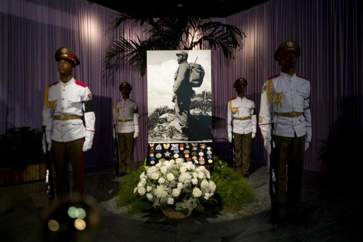 Multitudinario homenaje en La Habana