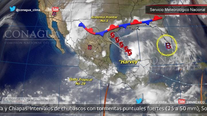 Pronóstico del tiempo para el 24 de agosto