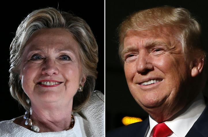 Clinton y Trump intensifican acciones de campaña